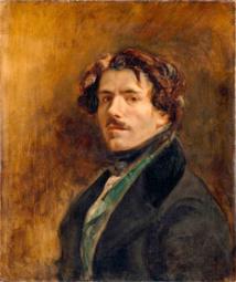 Eugène Delacroix, Autoportrait, vers 1837  Musée du Louvre, Paris  © RMN-Grand Palais (Musée du Louvre)/Jean-Gilles Berizzi