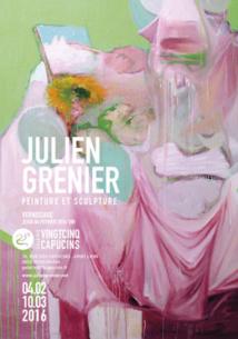 Julien Grenier, peintures, Galerie 25 Capucins, Lyon, du 4 février au 10 mars 2016