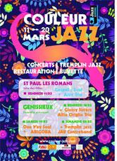 Couleur Jazz à Génissieux (26)  du 11 au 20 mars 2016
