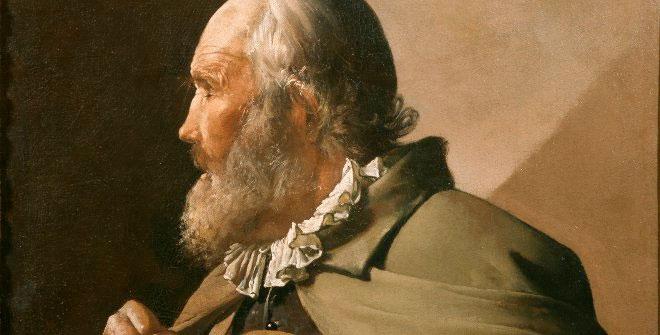 Le Veilleur aveugle, 1620-1630, La Tour, Georges de, huile sur toile