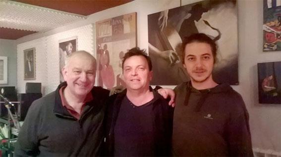 Jérome Pigeard de Gurbert, Club Jazz à l'Envers, Aix-en-Provence, le 12 février 2016
