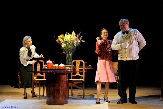 Le sexe faible - Comédie d'Edouard Bourdet, Le Théâtre d'Aix, Aix-en-Provence, 5 et 6 mars 2016