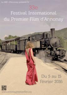 Festival International du Premier Film d'Annonay, 33e édition, du 5 au 15 février 2016