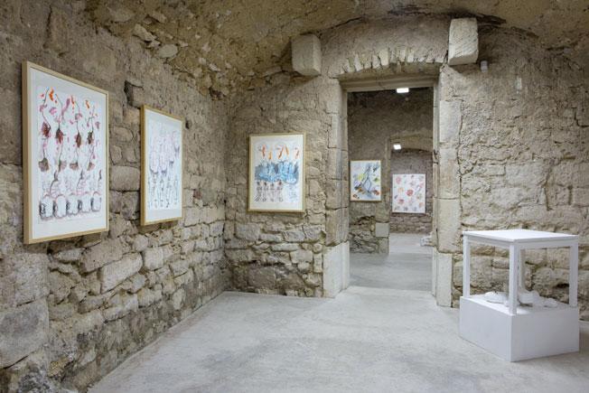 Christian Lhopital, « My Favorite Things », dessin & sculpture, exposition du 21 février au 17 avril 2016, centre d'art contemporain de St Restitut, Drôme