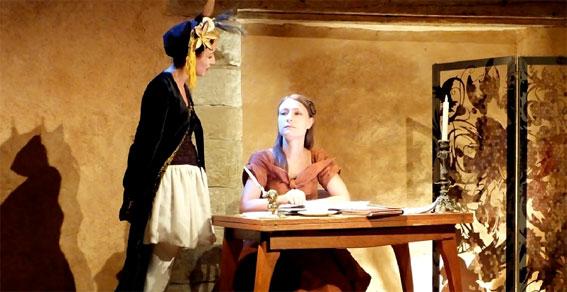 Les Galets de la mer, d'après l'œuvre de Louise Ackermann, Théâtre de l'Ile Saint-Louis Paul Rey, Paris, du 23 au 28 février 2016 à 21h