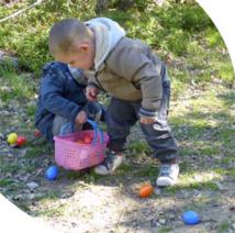 La grande chasse aux œufs est ouverte au Safari de Peaugres, Ardèche, du 26 au 28 mars 2016