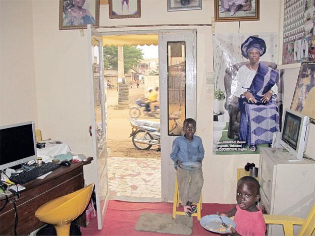 Jacques Damez, Bénin, 2014 / Afrique Buissonnière. Courtsey Galerie Le Réverbère, Lyon