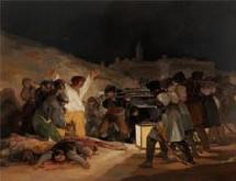Goya, les fusillés du 3 mai 1808