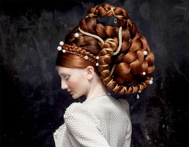 © Isabelle Chapuis, Vespucci, 2012, photographie, hairstylist Nicolas Jurnjack