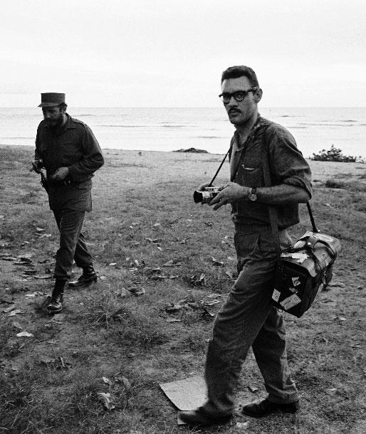 Jesse A. Fernandez et Fidel Castro © DR