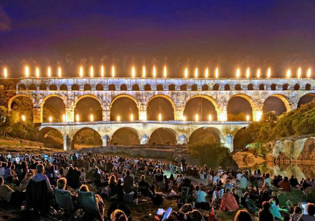 Le Pont du Gard dévoile son programme 2016