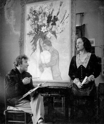 Exposition photos : dans l'intimité de Marc Chagall  (1887 – 1985) Château des Baux de Provence du 2 mai au 29 septembre 2016