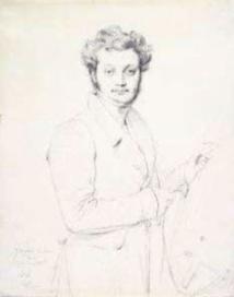 Jean Auguste Dominique Ingres. Portrait de Luigi Calamatta  © Musée de la Vie romantique / Roger-Viollet