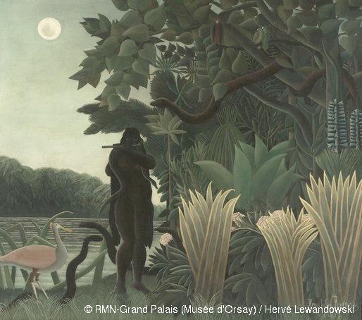 Henri Rousseau, dit le Douanier (1844-1910) La Charmeuse de serpents