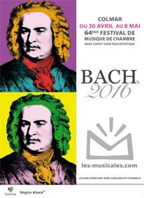 Festival Les Musicales de Colmar du 30 avril au 8 mai 2016