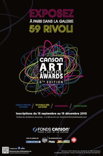 Les lauréats de la 6e édition des Canson® Art School Awards s'exposent au 59Rivoli, en plein coeur de Paris !