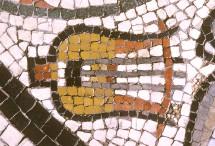 Mosaïque romaine (détail)
