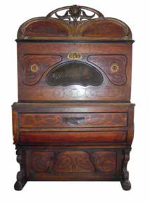 Piano mécanique à cylindre, appelé viole de marque Nallino, 1924