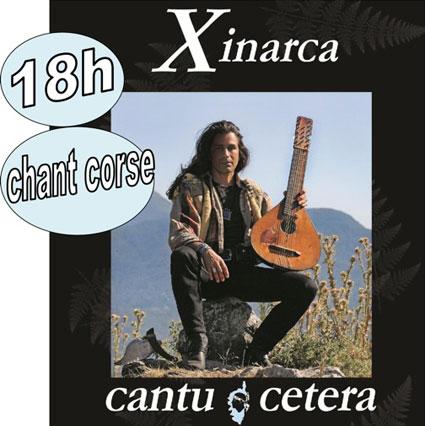 Xinarca perpétue la langue et les traditions corses le 11 juin 2016 à Ailhon, Ardèche