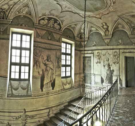 Cage d'escalier de la Villa-Musée Jean-Honoré Fragonard