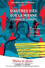 « D'autres vies que la mienne » par Tatiana Werner - Les Ailes de Clarence, festival d'Avignon Off