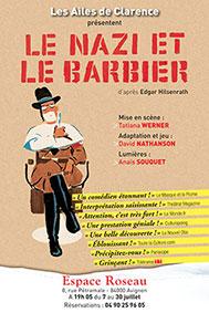« Le Nazi et le Barbier » par Tatiana Werner - Les Ailes de Clarence, théâtre du Roseau, Avignon Off