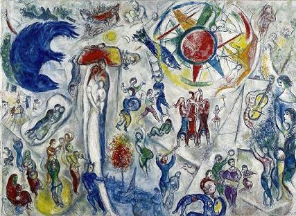 Marc Chagall, La Vie, 1964