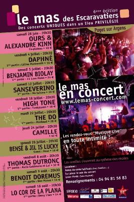 Le Mas en Concert
