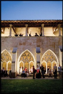 Concert au cloître de l'abbaye d'Ambronay