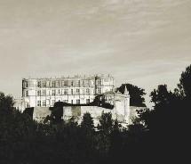 Le château de Grignan où vécut la Marquise de Sévigné