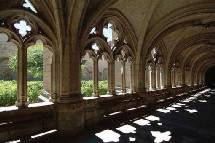 Le cloître de l'abbaye de La Chaise-Dieu