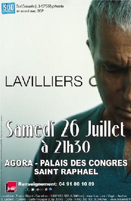 Saint-Raphaël, Var, Bernard Lavilliers en concert le 26 juillet 2008
