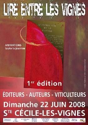 22 juin. Sainte-Cécile les Vignes, Vaucluse : LIRE ENTRE LES VIGNES, un salon du livre festif et animé