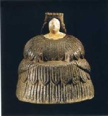 Figurine féminine, Princesse de Bactriane Fin du IIIe - début du IIe  av.