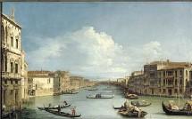 Antonio Canal, dit Canaletto, Le Grand Canal vu du Palais Balbi, 1730