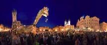 Bar-le-Duc (Meuse), 'Une mante religieuse géante dans les rues de Bar-le-Duc !' pour le festival RenaissanceS, 11 e édition. Du 3 au 6 juillet
