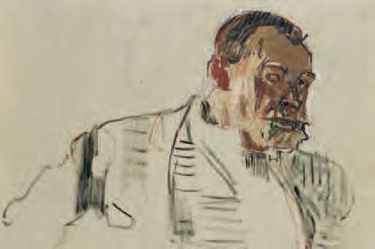 Ferdinand Hodler, Autoportrait, vers 1914