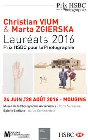 Christian Vium et Marta Zgierska: lauréats du Prix HSBC pour la photographie 2016 du 24 juin au 28 août 2016