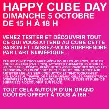 ssy-les-Moulineaux, Le Cube, Centre de création numérique : dimanche 5 octobre, Happy Cube Day 2008