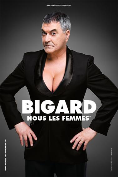 """A Tain-l'Hermitage (Drôme), Jean-Marie Bigard présente """"Nous les femmes"""""""