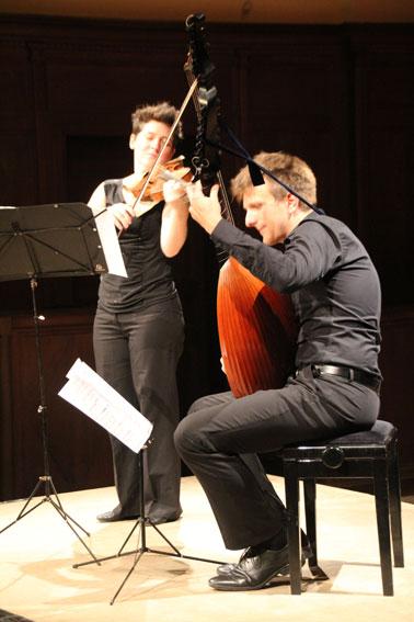 Labeaume En Musique 2016 : Repicco Duo, Une Rencontre Avec