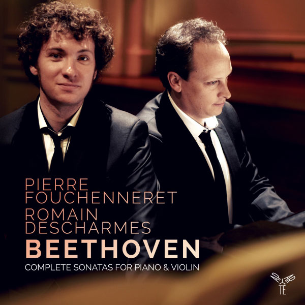 CD : Intégrale : Sonates violon - Piano de Beethoven / Fouchenneret, Descharmes chez Aparté. Sortie le 9 septembre 2016