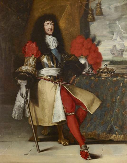 Louis XIV, roi de France (1638-1715)  Claude Lefèvre (1632-1675) et atelier  Vers 1660  Huile sur toile  © Château de Versailles (dist. RMN-GP) / C. Fouin