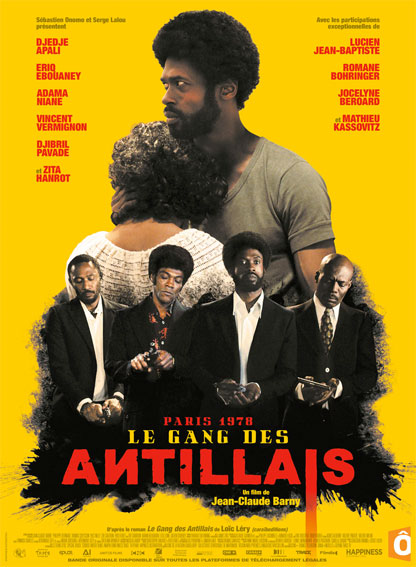 Le gang des Antillais, de Jean-Claude Flamand Barny, sortie novembre 2016
