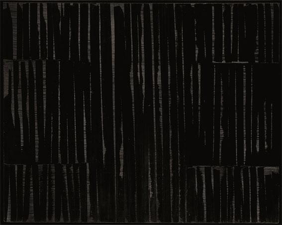 Pierre Soulages Peinture 202 x 255 cm, 18 octobre 1984