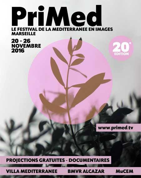 Festival du documentaire PriMed Marseille avec Antoine Sfeir, du 20 au 26 novembre 2016