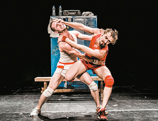 Un poyo rojo. Alfonso Baron & Luiciano Rosso et un poste de radio ! Théâtre les Salins, Martigues, les 23 et 24 novembre 2016