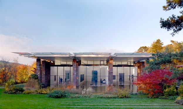 La Fondation Beyeler, construit par Renzo Piano © Mark Niedermann