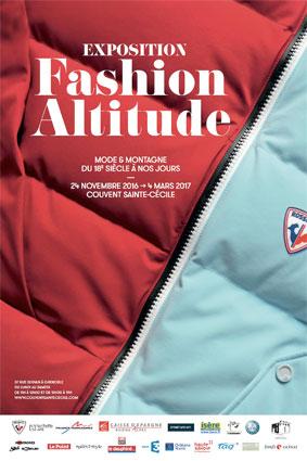 Exposition « Fashion altitude, mode et montagne du 18e siècle à nos jours », Couvent Ste-Cécile, Grenoble, du 24 novembre 2016 au 4 mars 2017