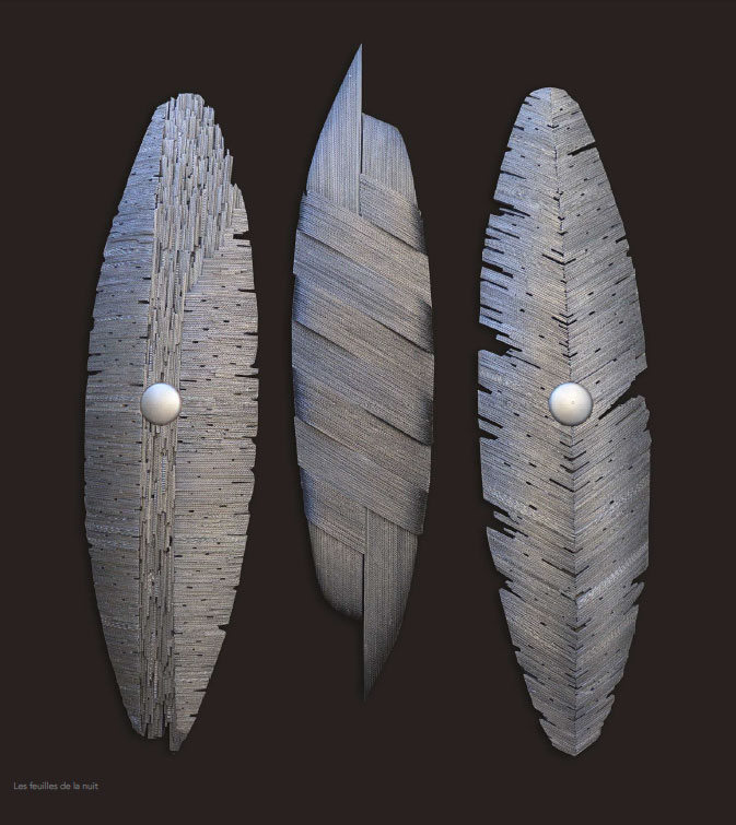 Pierre Riba. Les feuilles de la nuit, 2013-2015